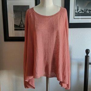 Eileen Fisher Linen Blend Sweater Size Large